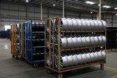 Sklad dílů pro automobilový auto Chongqing minsheng logistické zásoby ráfky