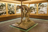 Fotografia Zigong sale museo tecnologia sale historica grande scultura sale operaio di perforazione