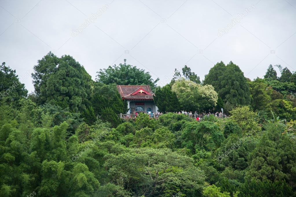Lalu Sun Moon Lake in Nantou County, Taiwan Island Hyun ji