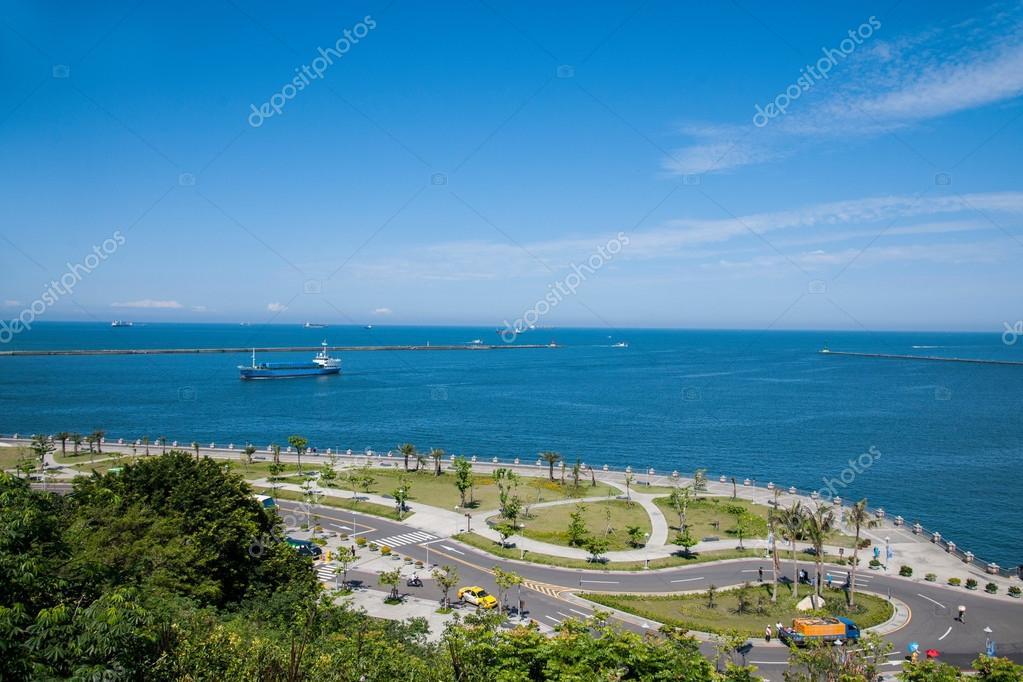 Lotus Square sea in Kaohsiung, Taiwan