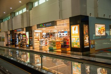 Taiwan Taoyuan International Airport Terminal duty-free shopping malls