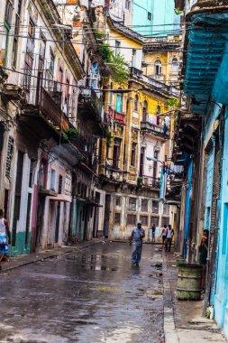 Street view in La Havana