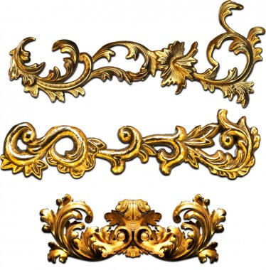 gold baroque