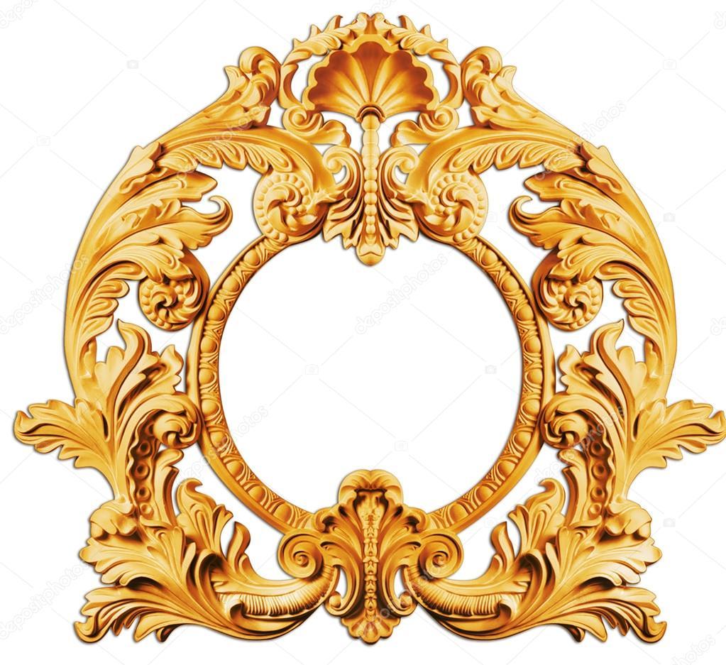 marco de oro — Foto de stock © kadirgul #51758245