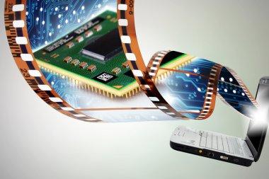 Nastro pellicola e portatile
