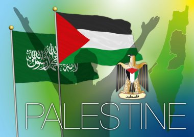 Palestine flag and symbols