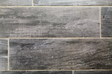 black tiled