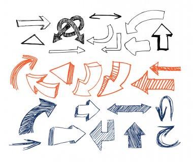 Drawn Arrows