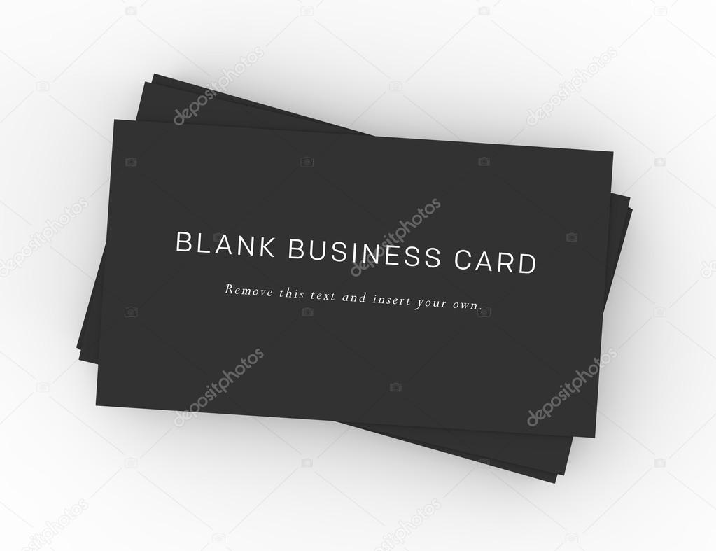 A stack of black business cards stock photo groenning 24989219 a stack of black business cards on a dark wood desktop easy to insert your own company information and logo photo by groenning reheart Image collections
