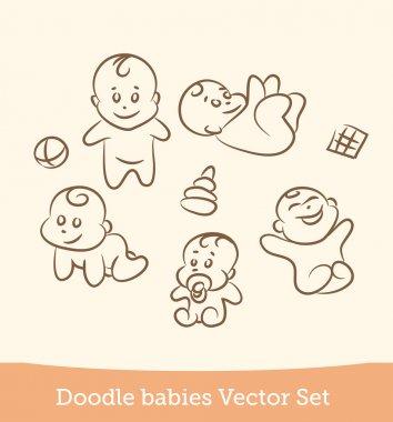 Doodle baby set