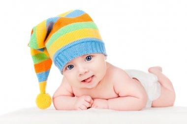 Baby in a cap