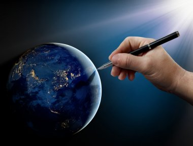 God's intervention in human affairs on Earth