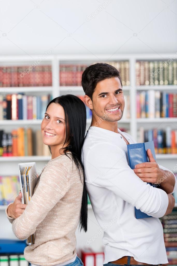 Bibliothek-Dating