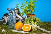 zdraví a fitness téma