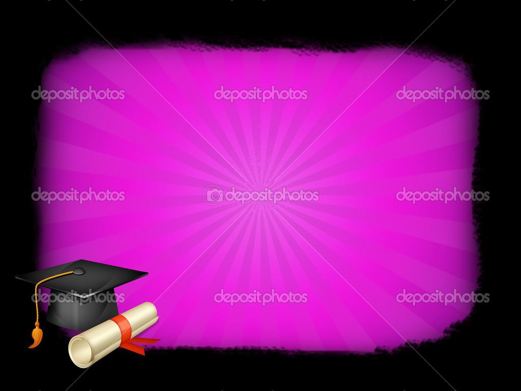 Symbol für Grad und Diplom-Rahmen mit — Stockfoto © morfeo86ts #25917169