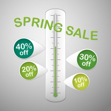 spring sale thermometer