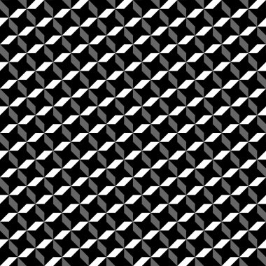 Black and white vectorial pattern