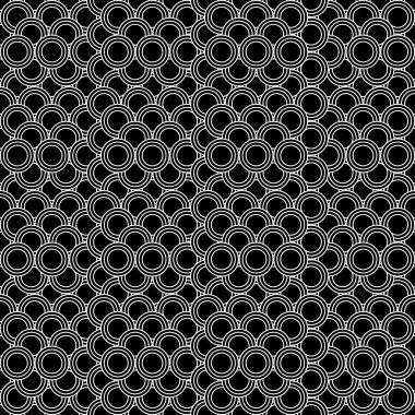 Zig zag vector pattern ethno inspired