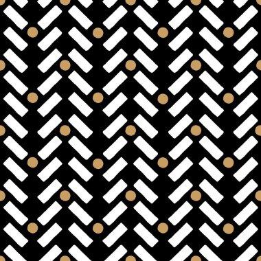 Vector geometric pattern ethno inspired