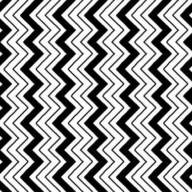Zig zag pattern ethno vectorial