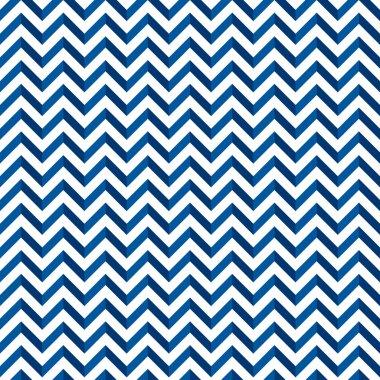 Chevron pattern blu
