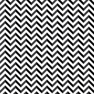 Chevron seamless black pattern