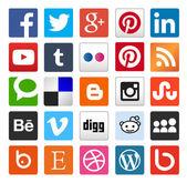 Einfache Social-Media-Ikone