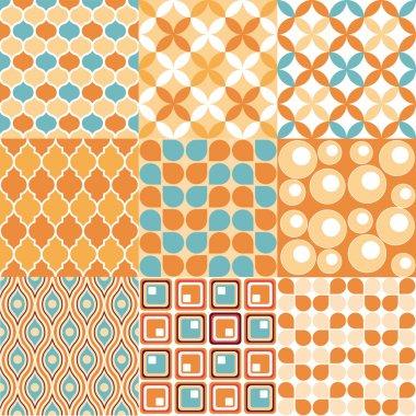 Retro Pattern - Seamless vectorial