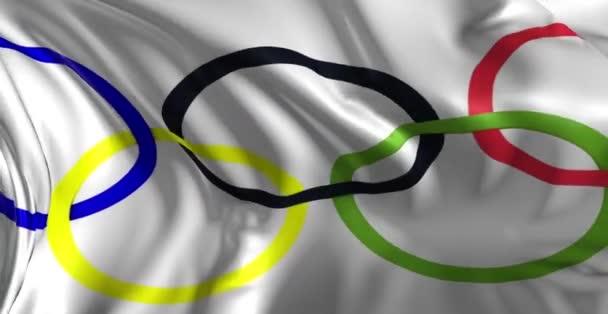 az olimpiai játékok zászlaja