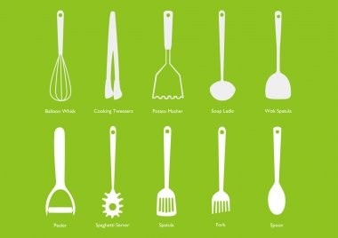 Icon Set - Kitchen Tools