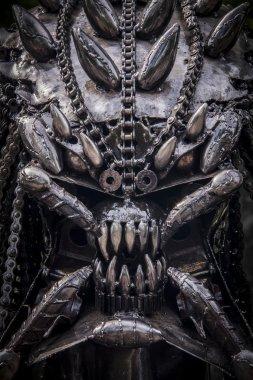 predator from steel