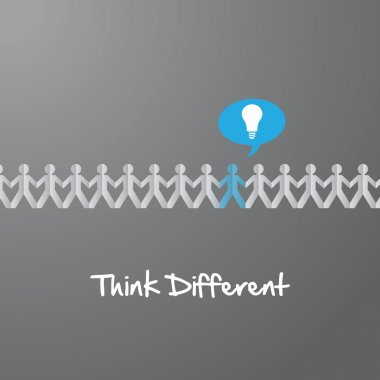 Think Different paper people