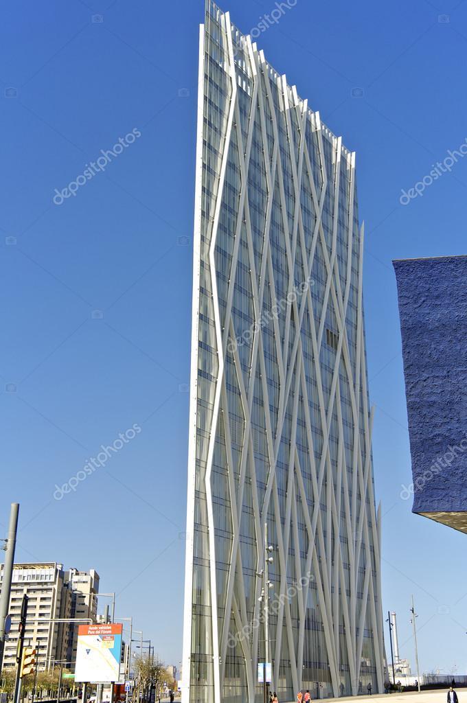 Soggiorno moderno a Barcellona — Foto Editoriale Stock ...