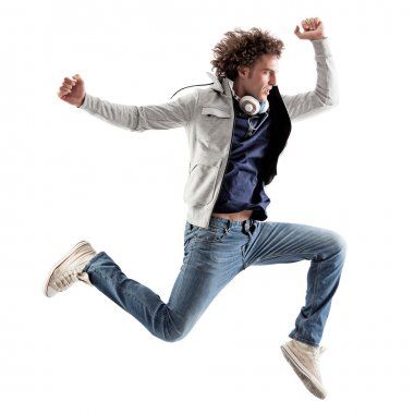 Cool Man Jumping