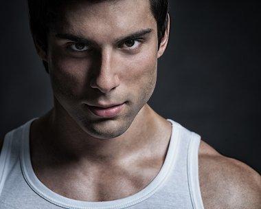 Handsome Male Model Portrait