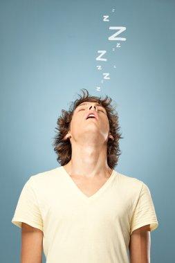 Man Fallen Asleep