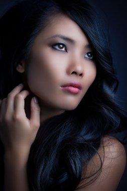 Glamorous Asian Woman