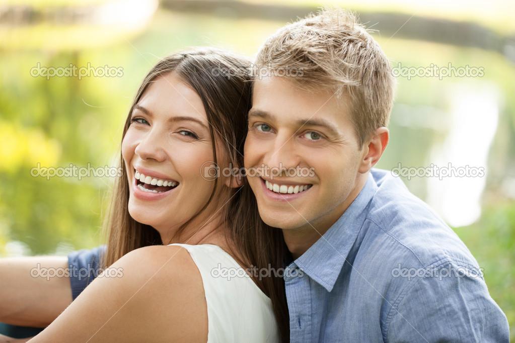 ein glückliches paar