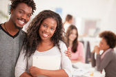 African College Students Smiling