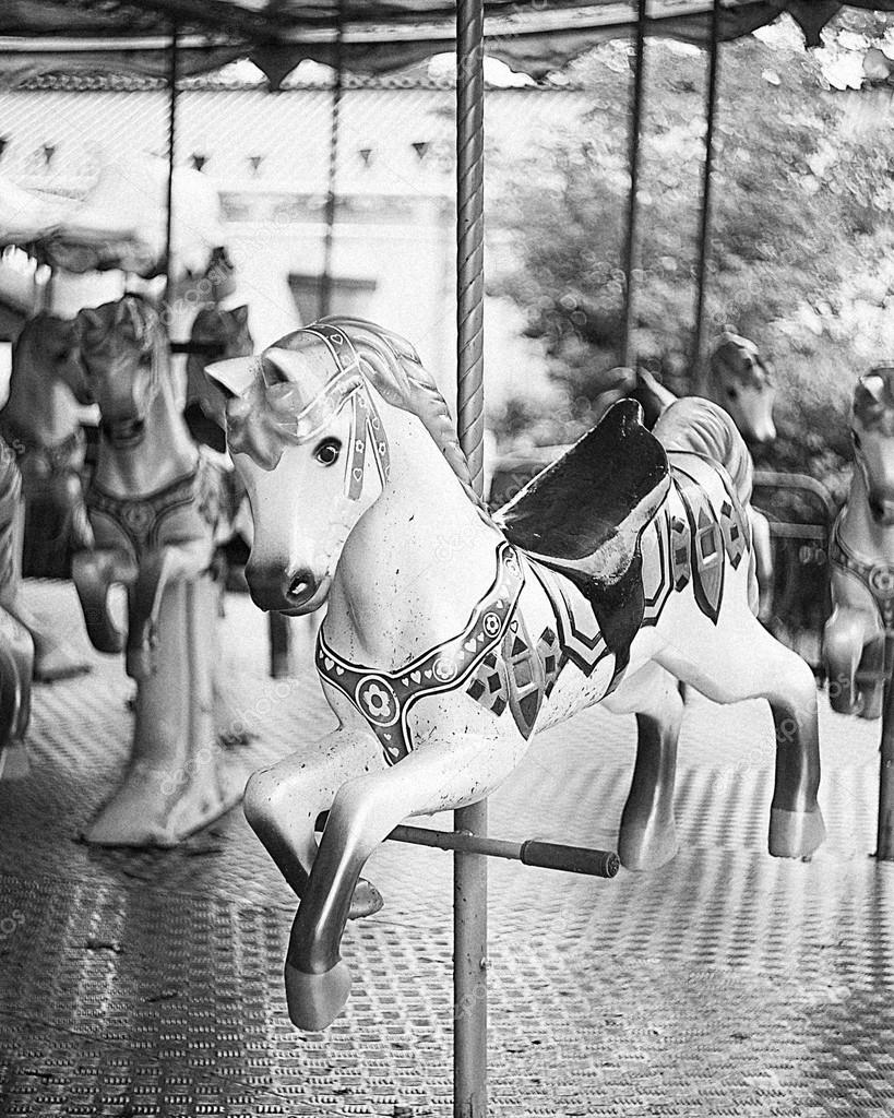 Carousel Horse Stock Photo C Estetika Foto 31752493