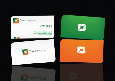 Logo and Bussiness card Temp