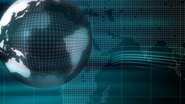 země technologie pozadí smyčka