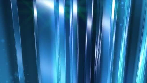 Absztrakt kék üveg háttér hurok