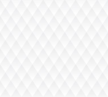 Vector seamless background, white geometric texture.