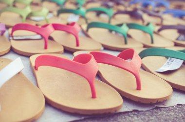 flip flop sandals retro style