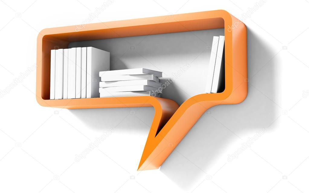 sunbeam orange bookshelf file vintage shelving