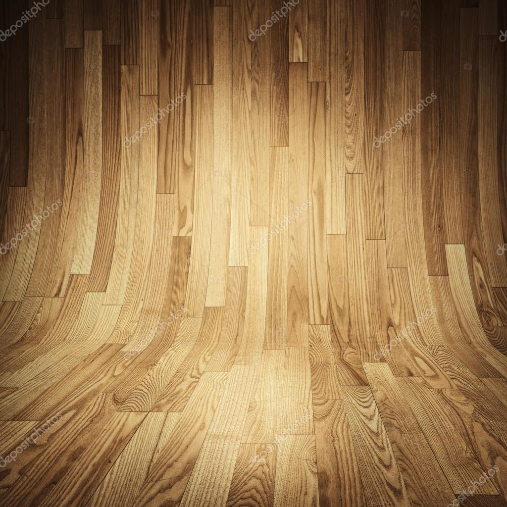 Parquet wood texture room covered with wooden planks