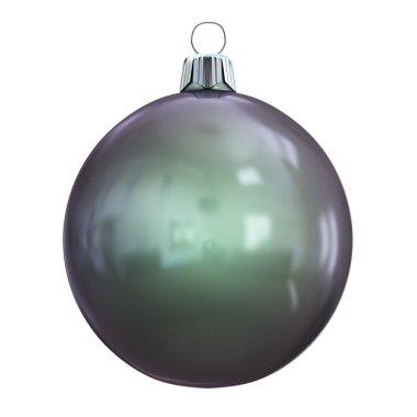 New Years Eve bauble blank. Christmas ball black.