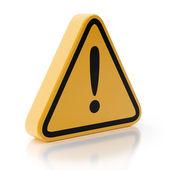 Fotografie Exclamation Mark Symbol Attention Sign Warning Hazard