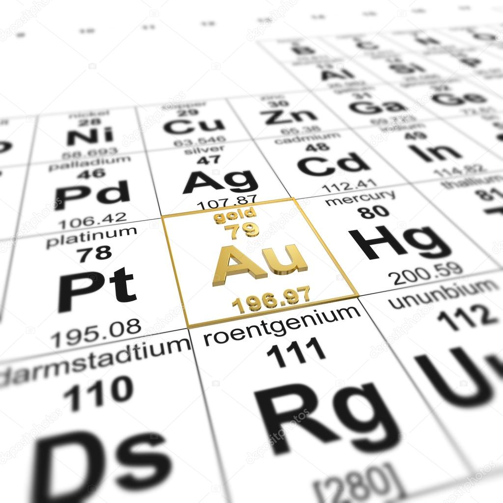Table of elements gold stock photo imagewell 25076943 periodic table of elements focused on gold photo by imagewell urtaz Gallery